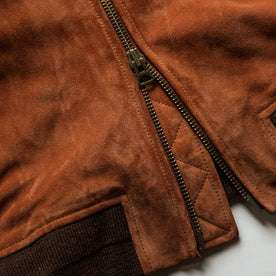 material shot of zipper