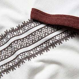 material shot of embroidery