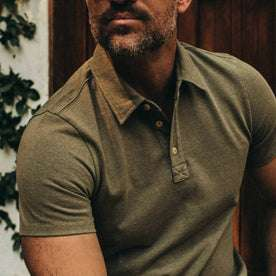 The Heavy Bag Polo in Olive: Alternate Image 2