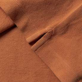 material shot of shirt stitching detail
