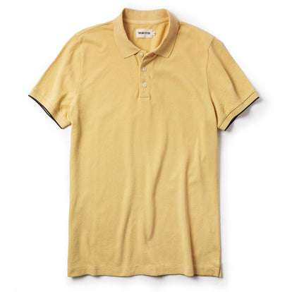 The Pique Polo in Straw