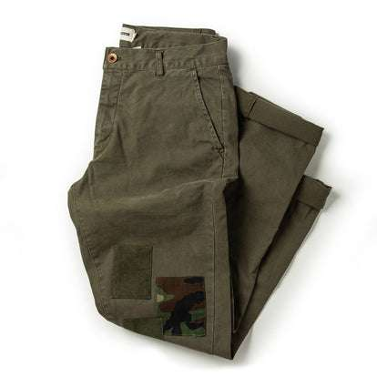 The Atelier and Repairs Chino in Olive