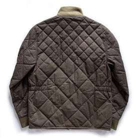 The Quilted Bomber Jacket in Espresso: Alternate Image 8