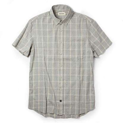 The Short Sleeve Jack in Ash Madras