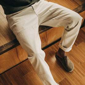 The Chore Pant in Natural Boss Duck: Alternate Image 2