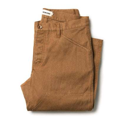 The Chore Pant in Tobacco Boss Duck
