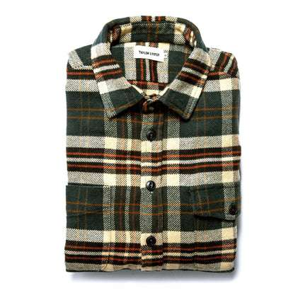The Crater Shirt in Forest Plaid