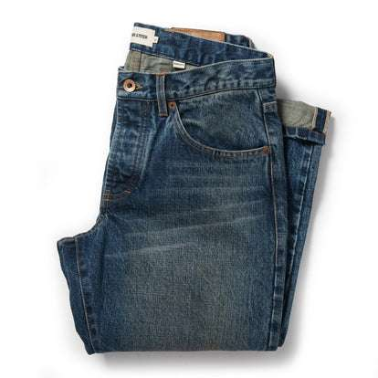 The Democratic Jean in 18-Month Wash Organic Selvage