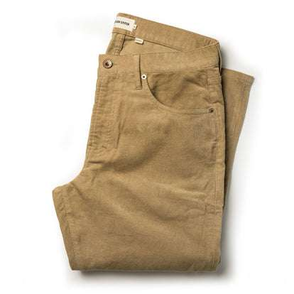 The Democratic All Day Pant in British Khaki Cord