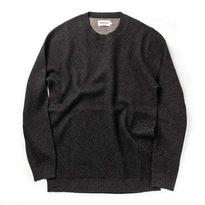 The Double Knit Sweater in Charcoal
