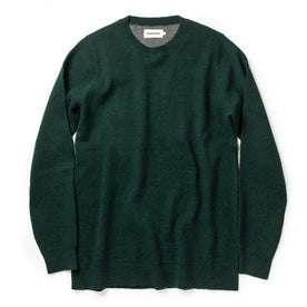 The Double Knit Sweater in Forest: Featured Image