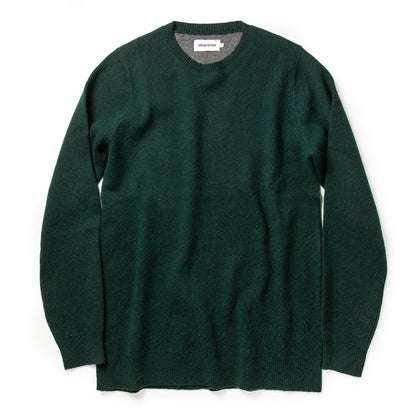 The Double Knit Sweater in Forest