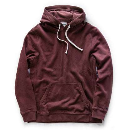 The Fillmore Hoodie in Burgundy Terry