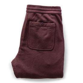 The Fillmore Pant in Burgundy Terry: Alternate Image 6