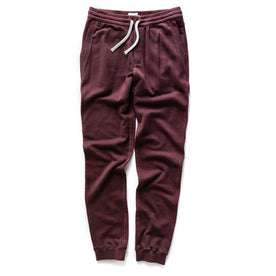 The Fillmore Pant in Burgundy Terry: Alternate Image 7