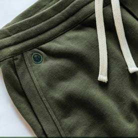 The Fillmore Pant in Dark Olive Terry: Alternate Image 5