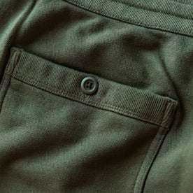 The Fillmore Pant in Dark Olive Terry: Alternate Image 7