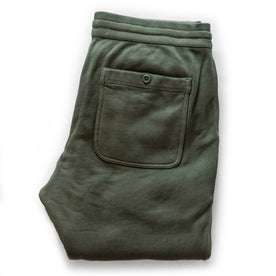 The Fillmore Pant in Dark Olive Terry: Alternate Image 8
