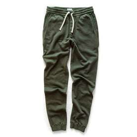The Fillmore Pant in Dark Olive Terry: Alternate Image 9