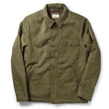 The Lined Watts Jacket in Olive