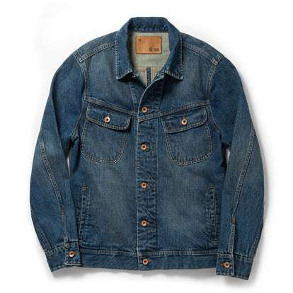 The Long Haul Jacket in 18-Month Wash Organic Selvage