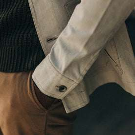 The Ojai Jacket in Natural Boss Duck: Alternate Image 4