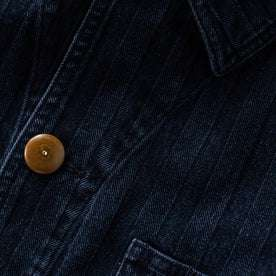 material shot of button and fabric