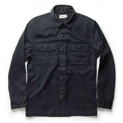The Shop Shirt in Coal Boss Duck