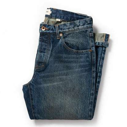 The Slim Jean in 18-Month Wash Organic Selvage