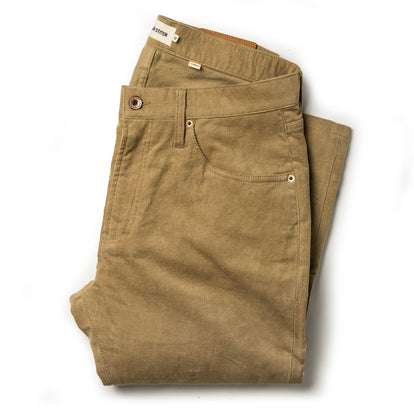 The Slim All Day Pant in British Khaki Cord