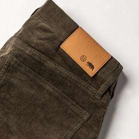 material shot of back tab