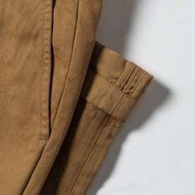 material shot of cuff