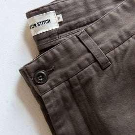material shot of waist