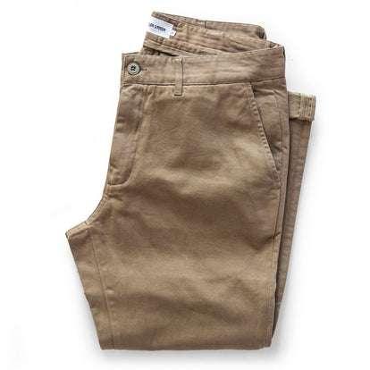 The Slim Foundation Pant in Organic Khaki