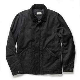 flatlay of The Workhorse Jacket in Coal Boss Duck