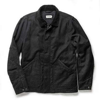 The Workhorse Jacket in Coal Boss Duck