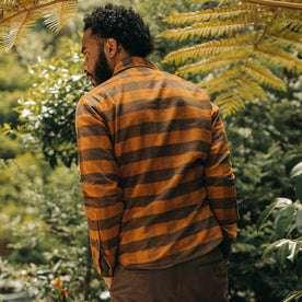 The Yosemite Shirt in Saffron Buffalo Check: Alternate Image 4
