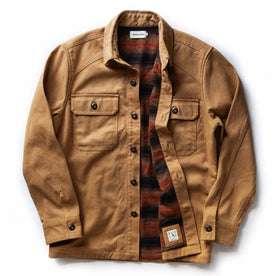 open flatlay of shirt