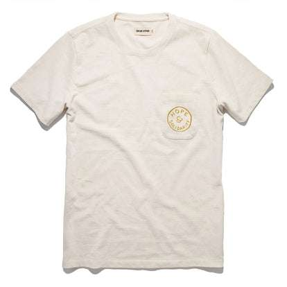 The Hope & Solidarity <br> Heavy Bag Tee in Natural