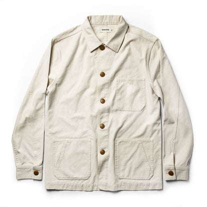The Ojai Jacket in Natural Reverse Sateen