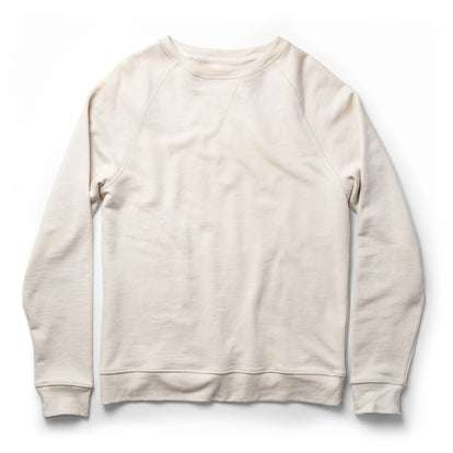 The Crewneck in Natural Donegal Terry