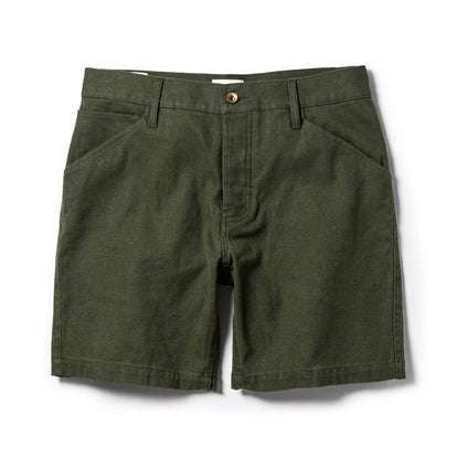 The Camp Short in Olive Boss Duck