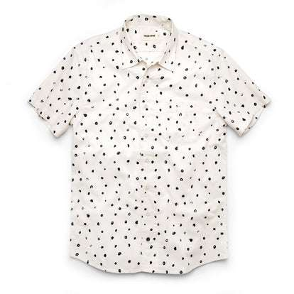 The Short Sleeve Hawthorne in Brush Dot