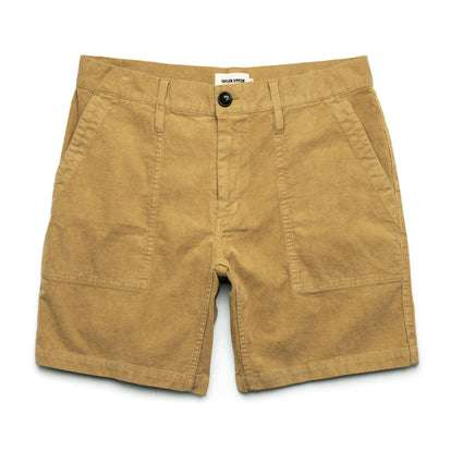 The Trail Short in Khaki Cord