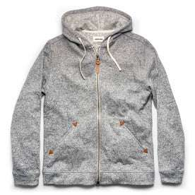 The Après Hoodie in Heather Grey: Featured Image