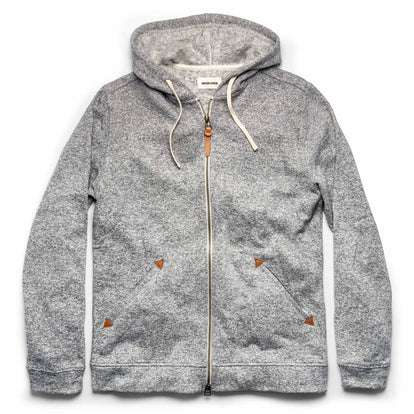 The Après Hoodie in Heather Grey