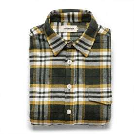 The Crater Shirt in Green Plaid: Featured Image