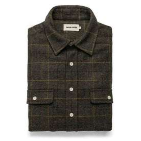 The Leeward Shirt in Olive Plaid: Featured Image