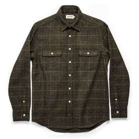 The Leeward Shirt in Olive Plaid: Alternate Image 7