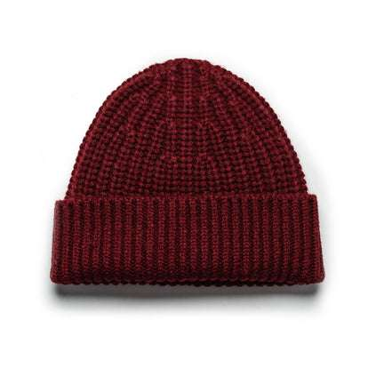 The Beanie in Maroon